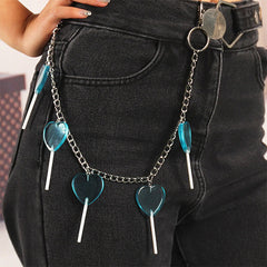 soft girl pant chain boogzel apparel