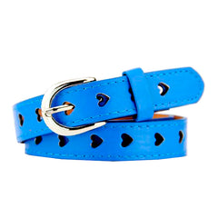 blue Heart Cutout Belt