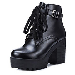 Heeled Ankle Boots boogzel apparel