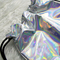 Holo Drawstring Bag boogzel apparel shop buy