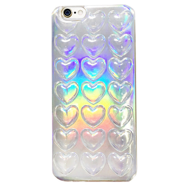 Holographic Heart Case