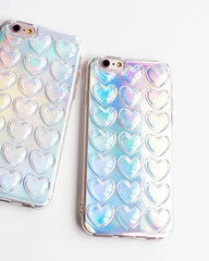 Holographic Heart Case boogzel apparel