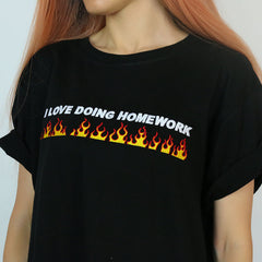 flme fire T-shirt boogzel apparel