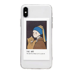 Interchangeable Art van gogh IPhone Case