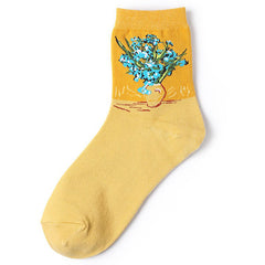 Irises Van Gogh Socks