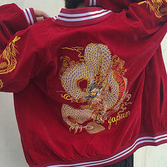 Dragon Bomber Jacket boogzel apparel
