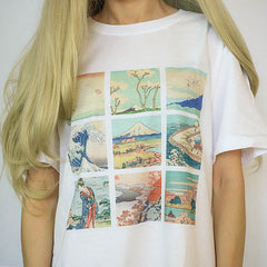 great wave off kanagawa shirt