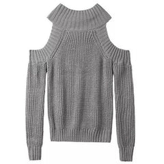 Knit Off Shoulder Jumper