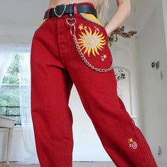 Le Soleil High Waisted Trousers