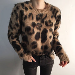 leopard jumper boogzel apparel