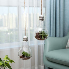 Light Bulb Hanging Vase boogel apparel