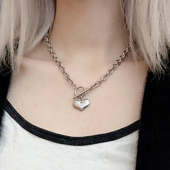 Shop Love Bites Heart Necklace At Boogzel Apparel Free Shipping