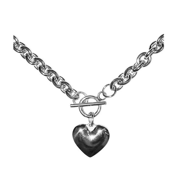 Love Bites Heart Necklace