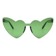 Buy Love Bites Green Summer SunGlasses Sunnies at Boogzel Apparel Free Shipping