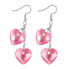 Love On Top Heart Earrings at Boogzel Apparel