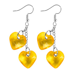 Shop Love On Top Heart Earrings at Boogzel Apparel