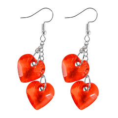Buy Love On Top Heart Earrings at Boogzel Apparel