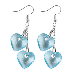 Buy Love On Top Heart Earrings at Boogzel Apparel Free Shipping Sale