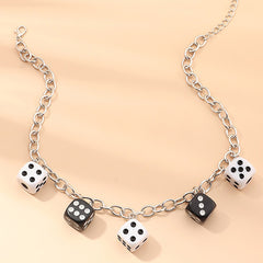 Lucky Roll Dice Necklace