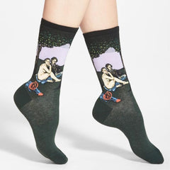 Luncheon On The Grass Manet Socks boogzel apparel