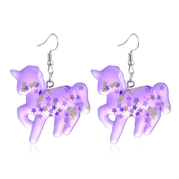 Magic Unicorn Earrings