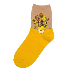 sunflowers socks