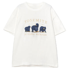 yosemite 1991 sierra nevada bear t-shirt
