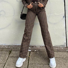 Dogtooth Check pants