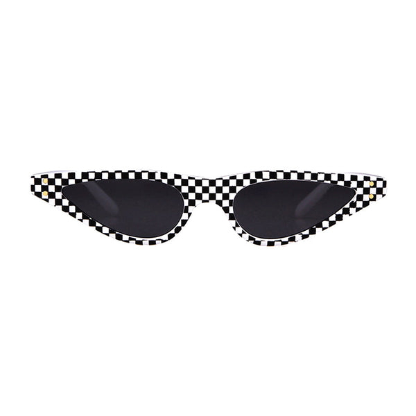 Nico Checkered Sunglasses