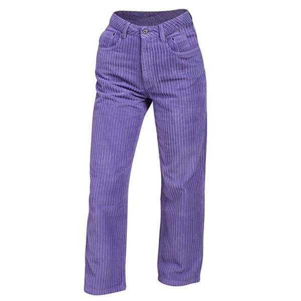 Purple Cord Pants