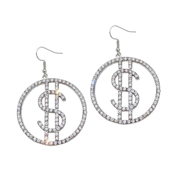 Ca$h Only Earrings