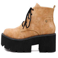 Shop Offenburg Lace Up Boots at Boogzel Apparel