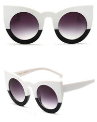 Oversized Cat Eye Sunglasses grunge