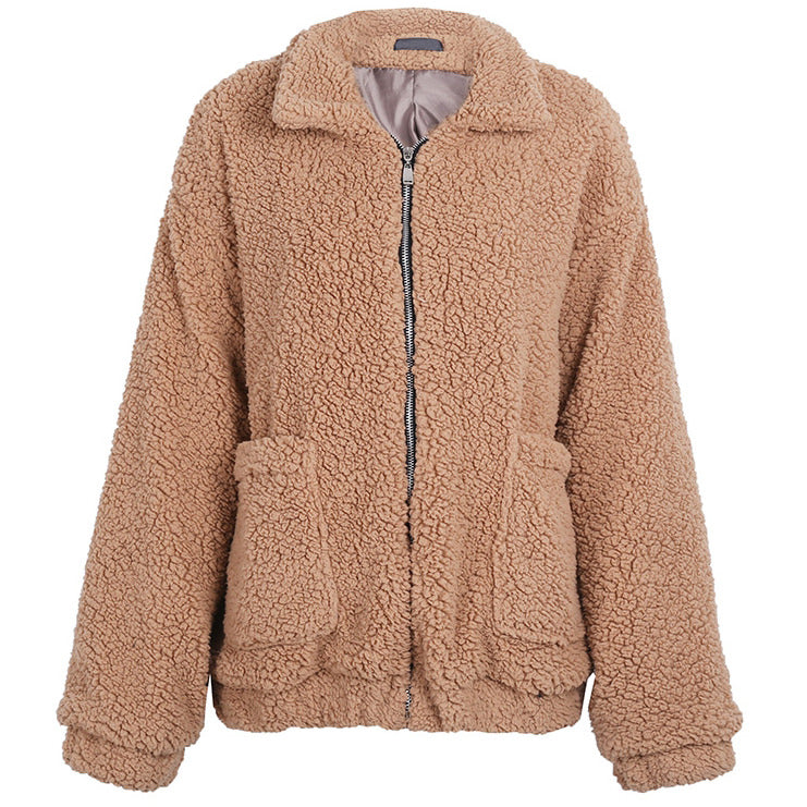 OVERSIZED TEDDY COAT – Boogzel Apparel