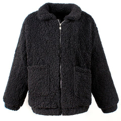 Shop Oversized Teddy Coat at Boogzel Apparel