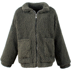 Shop Oversized Teddy Coat at Boogzel Apparel Free Shipping