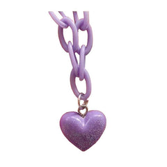 Pastel Phase Heart Necklace