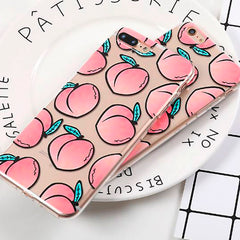 Shop Peachy IPhone Case at Boogzel Apparel Free Shipping
