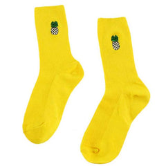 Pineapple Socks yellow boogzel apparel