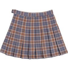 Plaid Mini Skirt at Boogzel Apparel