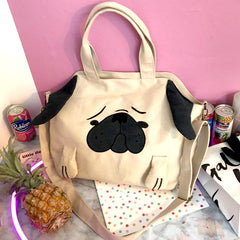 Shop Pug Handbag at Boogzel Apparel
