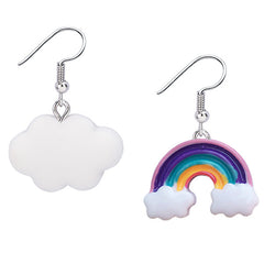 Rainbow N' Cloud Earrings