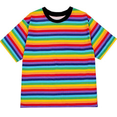 Rainbow Tee At Boogzel Apparel