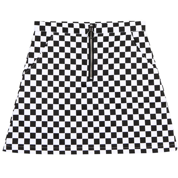 Checker Skirt