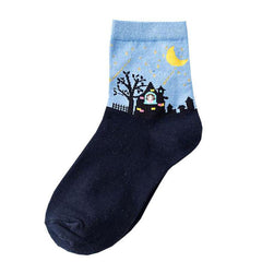 Scary Night Socks