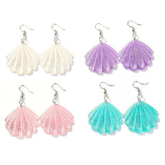 Shop Seashell Earrings at Boogzel Apparel Free Shipping