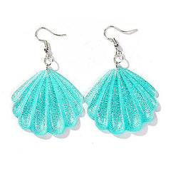 Seashell Earrings at Boogzel Apparel