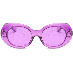 Buy See Through Sparkle Sunglasses at Boogzel Apparel