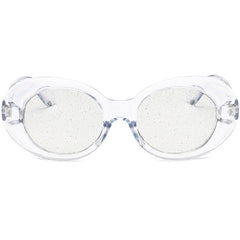 Buy See Through Sparkle Sunglasses at Boogzel Apparel Free Shipping