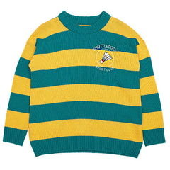 Shuttlecock Jumper green yellow boogzel apparel